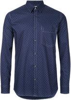 Factotum dots print shirt - men - Cotton - 44