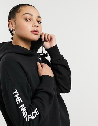 The North Face Graphic Collection hoodie in black