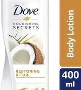 Dove Nourishing Secrets Coconut Oil Body Lotion 400ml