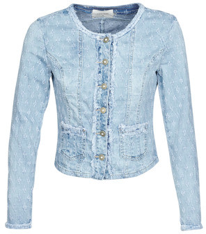 Cream ROBINACR women's Jacket in Blue