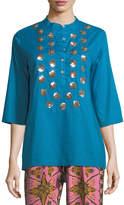 Figue Jasmine Half-Sleeve Tunic