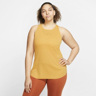 Nike Women's Ribbed Tank Yoga Luxe