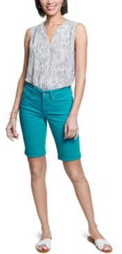 NYDJ Nydj's Briella Cuffed Denim Shorts