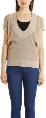 VPL Neo Low O Sweater in Taupe