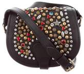 Jeremy Scott Studded Western Saddle Bag
