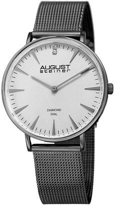 August Steiner Akribos Xxiv Women's Stainless Steel Watch