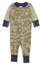 Hanna Andersson Infant Boy's Organic Cotton Fitted One-Piece Pajamas