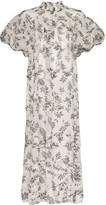 Lee Mathews Lucy floral print dress