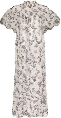 Lee Mathews Lucy floral print dress