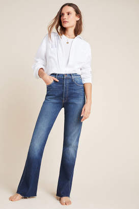 Mother The Tripper Weekender Ultra High-Rise Flare Jeans