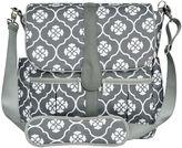 JJ Cole Backpack Diaper Bag in Grey Floret