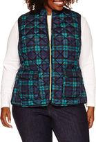 ST. JOHN'S BAY St. John's Bay Puffer Vest-Plus