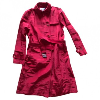 Calvin Klein Red Trench Coat for Women