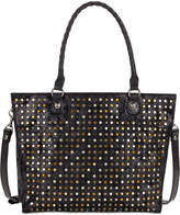 Patricia Nash Studded Zancona Medium Tote