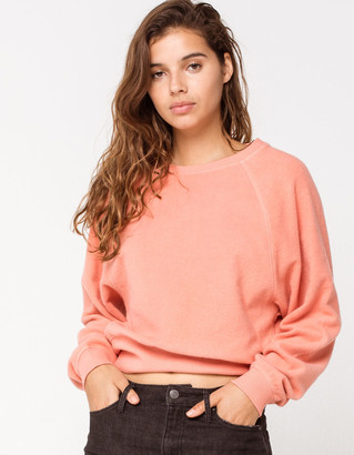 Roxy By The Rules Womens Pullover Sweatshirt