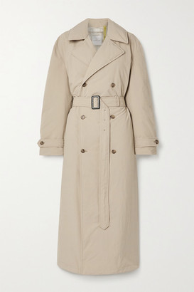 MONCLER GENIUS + 1 Jw Anderson Montacute Padded Shell Down Trench Coat - Beige