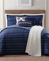 Jennifer Adams Home Penbrook Reversible 7-Pc. Printed Full/Queen Comforter Set Bedding