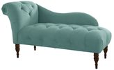 Skyline Furniture Velvet Lounge Chaise