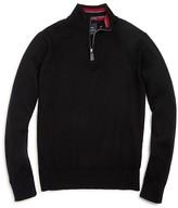 Tailorbyrd Boys' Quarter Zip Wool Sweater - Sizes S-XL