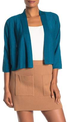 Eileen Fisher Open Front Cardigan Shrug