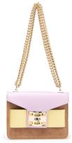 SALAR Women's Mila Bag Marrone/Lilla