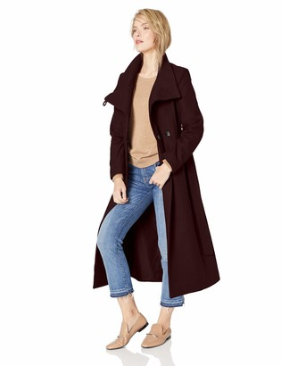 Kenneth Cole New York Women's Full Length Wool Jacket