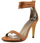 Michael Antonio Regel Women Open Toe Synthetic Tan Sandals.