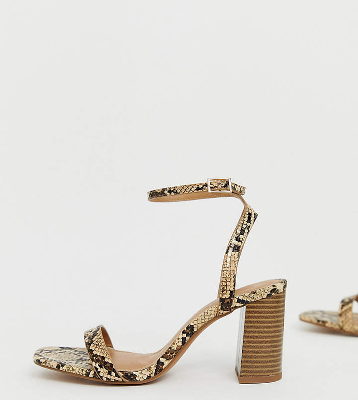 1b69e964d Barely There Sandal Heels - ShopStyle