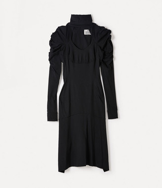 Vivienne Westwood Phoenix Jersey Dress Black