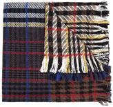 Faith Connexion oversized long checked scarf