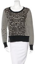 Thakoon Wool-Blend Printed Sweater