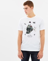 The Kooples Embroidered Print T-Shirt