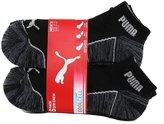 Puma Men's Quarter Crew Low Cut Socks - 6 Identical Pairs