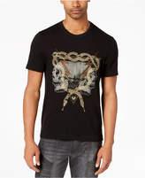 True Religion Men's Twin Bolt Embellished Graphic T-Shirt