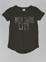 Junk Food Clothing Kids Girls New York City Tee-black Wash-2t
