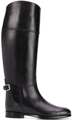 Ralph Lauren Collection Sallen knee-length leather boots