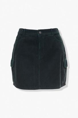 Forever 21 Plus Size Corduroy Mini Skirt