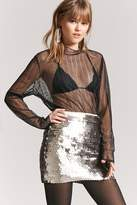 Forever 21 Sequin Mini Skirt