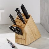 Crate & Barrel Wüsthof ® Gourmet 7-Piece Knife Set