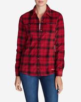 Eddie Bauer Women's Chutes Fleece Shirt Jacket