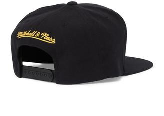 Mitchell & Ness NBA Golden State Warriors Metallic Snapback Baseball Cap