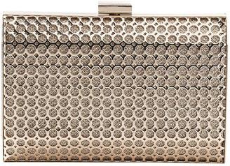Gregory Ladner Metal Hardcase Clutch Bag