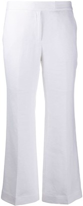 MICHAEL Michael Kors Bootcut Cropped Trousers