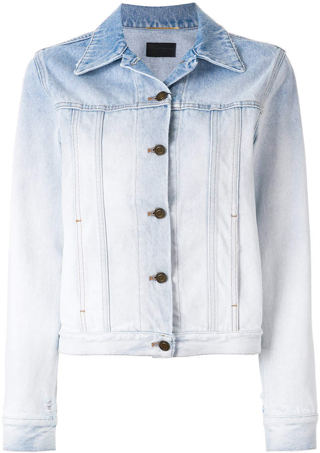 Saint Laurent gradient denim jacket