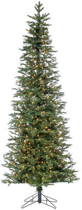 Sterling Tree Company 7.5Ft. Pre-Lit Natural Cut Monaco Pine W/ 8032 Led Micro Lights