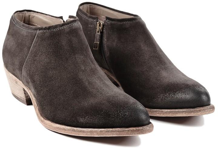 Alberto Fermani Western Zippered Boot