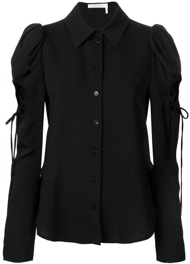 See by Chloe cut out shirt