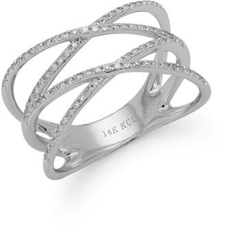 KC Designs Diamond & 14K White Gold Orbital Ring