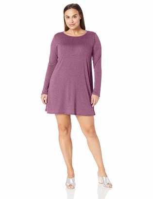 Lyss Loo Women's Shift & Shout Long Sleeve Over-Sized Tunic