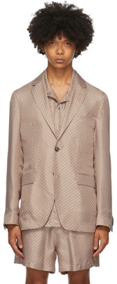 Tiger of Sweden SSENSE Exclusive Pink Giacca AMF Blazer